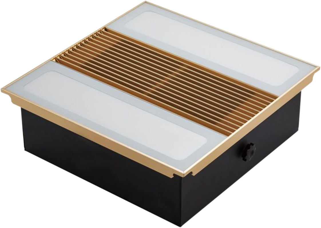 照明+换气-300-2EH-金/银