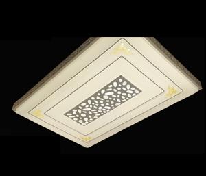 LJ鐵藝客廳燈 6309-28大長方