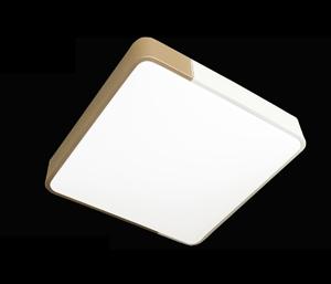 LJ鐵藝臥室燈 6338小方金色