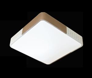 LJ鐵藝臥室燈 6340小方金色