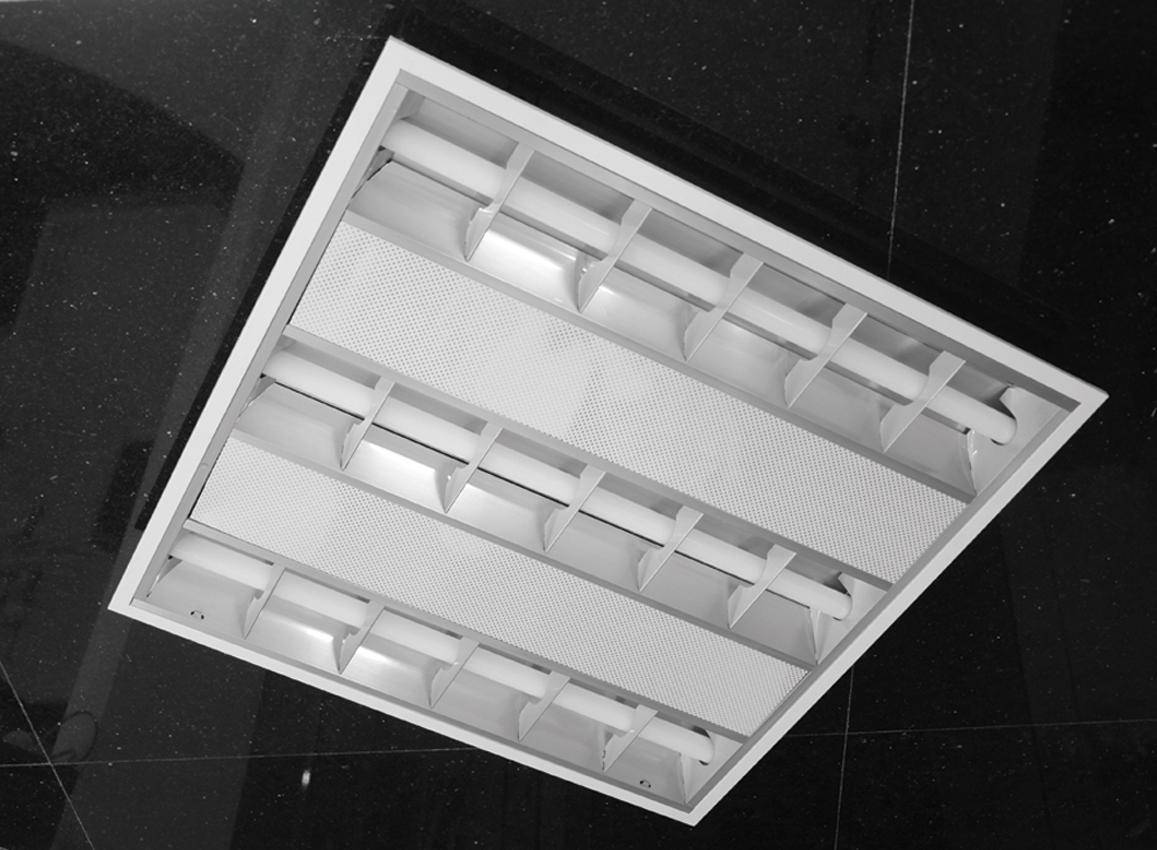(006) T5小鋼炮網罩燈盤